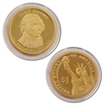 2007 John Adams Presidential Dollar - Proof - San Francisco