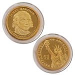 2007 James Madison Presidential Dollar - Proof - San Francisco