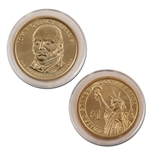 2008 John Quincy Adams Presidential Dollar - Uncirculated - Philadelphia