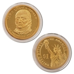 2008 John Quincy Adams Presidential Dollar - Proof - San Francisco