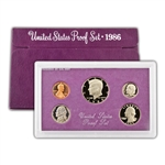 1986 Modern Issue Proof Set