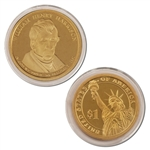 2009 William H. Harrison Presidential Dollar - Proof - San Francisco
