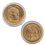 2009 John Tyler Presidential Dollar - Uncirculated - Denver