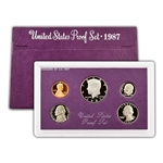 1987 Modern Issue Proof Set