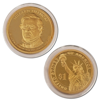 2010 Millard Fillmore Presidential Dollar - Proof - San Francisco