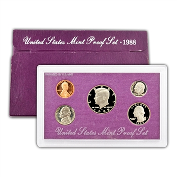 1988 Modern Issue Proof Set