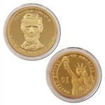 2010 Abraham Lincoln Presidential Dollar - Proof - San Francisco
