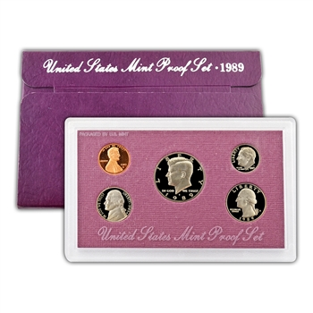 1989 Modern Issue Proof Set