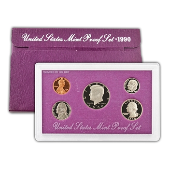 1990 Modern Issue Proof Set