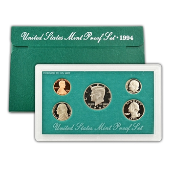 1994 Modern Issue Proof Set