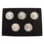 First Five Years of San Francisco Mint Morgans - Uncirculated 1878-1882