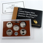 2011 America the Beautiful Quarters Proof Set - Original Government Packaging