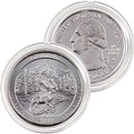 2011 Glacier Platinum Quarter - Denver