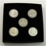 1976 Kennedy Bicentennial Collection - 5 pc