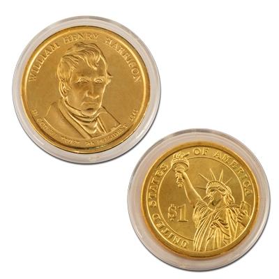 William Henry Harrison 2009 P Presidential Dollar Coin uncirculated Philadelphia
