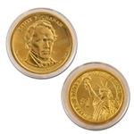 2010 James Buchanan Presidential Dollar - Gold - Philadelphia