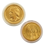 2011 Andrew Johnson Presidential Dollar - Gold - Philadelphia