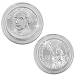 2007 George Washington Presidential Dollar - Platinum - Denver