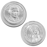 2007 Thomas Jefferson Presidential Dollar - Platinum - Denver