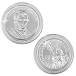 2009 Willaim H Harrison Presidential Dollar - Platinum - Philadelphia