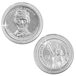 2010 Abraham Lincoln Presidential Dollar - Platinum - Denver