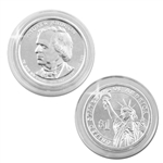 2011 Andrew Johnson Presidential Dollar - Platinum - Philadelphia