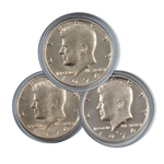 1974 Kennedy Half Dollar 3 pc PDS Set