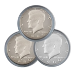 1980 Kennedy Half Dollar 3 pc PDS Set