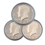1981 Kennedy Half Dollar 3 pc PDS Set