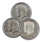 1982 Kennedy Half Dollar 3 pc PDS Set