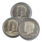 1983 Kennedy Half Dollar 3 pc PDS Set