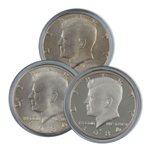 1984 Kennedy Half Dollar 3 pc PDS Set