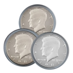1985 Kennedy Half Dollar 3 pc PDS Set