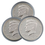 1990 Kennedy Half Dollar 3 pc PDS Set