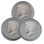 1993 Kennedy Half Dollar 3 pc PDS Set