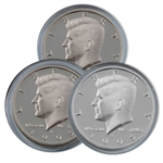 1995 Kennedy Half Dollar 3 pc PDS Set