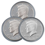 1996 Kennedy Half Dollar 3 pc PDS Set