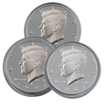 1997 Kennedy Half Dollar 3 pc PDS Set