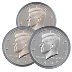 1998 Kennedy Half Dollar 3 pc PDS Set