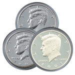 2001 Kennedy Half Dollar 3 pc PDS Set