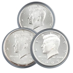 2009 Kennedy Half Dollar 3 pc PDS Set