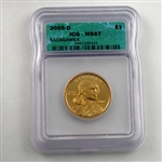2005 Sacagawea Dollar - Denver - ICG Certified 67
