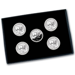 2005 Buffalo Nickel 5 Coin PDS Set