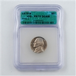 1979 Jefferson Nickel T1 - PROOF - Certified 70