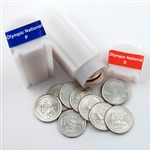 2011 Olympic Quarter Rolls - Philadelphia & Denver Mints - Uncirculated