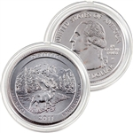 2011 Olympic Platinum Quarter - Denver