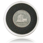 2004 Westward Nickel - PROOF - Keelboat Nickel - Series I - Capsule
