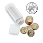2001 New York Quarter Roll - Philadelphia & Denver Mint