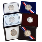 1980's Special Release Half Dollars 6 pc Collection