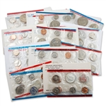 First Decade of Modern Official Uncirculated Sets 1968-1977 Plus One